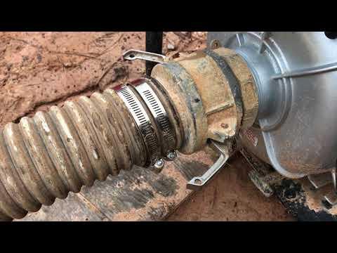 Repairing Water Pump Suction Hose