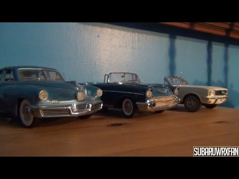 Vlog: My Model Car Collection