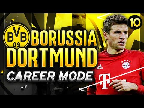 FIFA 16 Dortmund Career Mode - THE BIGGEST GAME YET! - Season 1 Episode 10