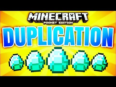 GET 1000+ DIAMONDS WITH THIS GLITCH! // MCPE 1.1.4 DUPLICATION GLITCH (Minecraft PE glitches)