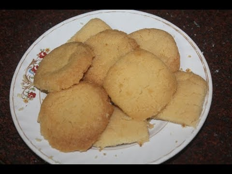 Ghee Biscuits Recipe - Ghee Cookies Recipe