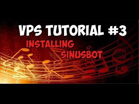 VPS Tutorial #3 | Installing SinusBot | Linux Debian