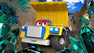 开采卡车mining Truck - 超级卡车卡尔在汽车城 🚚 ⍟ 国语中文儿童卡通片 Car City - Mandarin Super Truck Animation For Kids