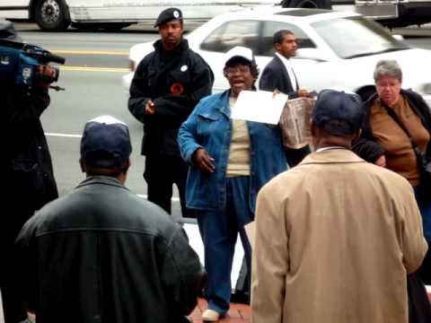 Newark Housing Rally
