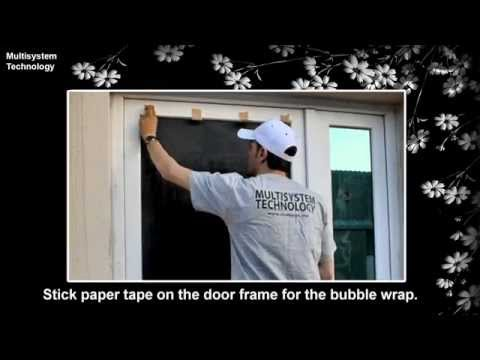 How to remove glass etched and frosted window film
