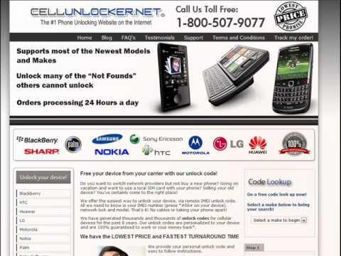 UNLOCK BLACKBERRY INSTANTLY - How to unlock all Blackberry phones by Unlock code