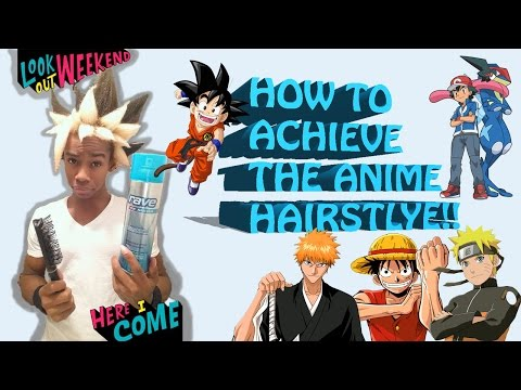 ~How To Spike Your Hair!! The BEST Anime Hair Styling Tutorial!!