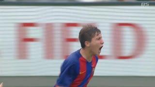 【ゴール動画】決勝 バルセロナのプラナス選手が終了間際にゴール!「U-12 ジュニアサッカーワールドチャレンジ 2016」