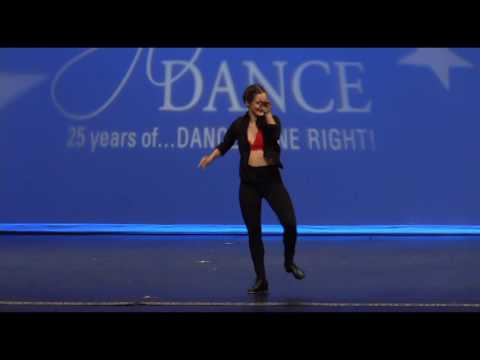 Tap Dance - Sloane's Last Competitive Award Winning Tap Solo