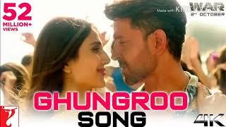 Ghungroo Song | War | Hrithik Roshan, Vaani Kapoor | Vishal and Shekhar ft, Arijit Singh, Shilpa Rao