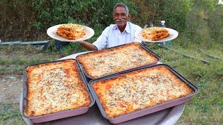 How to Make American Lasagna   Classic Italian Lasagna Recipe With Out Oven   Grandpa Kitchen