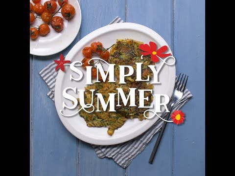 Gluten Free Zucchini and Halloumi Fritters - Simply Summer