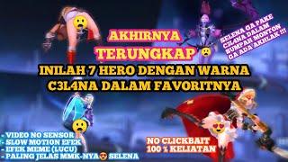 TERUNGKAP!!! INILAH WARNA CD HERO MOBILE LEGEND