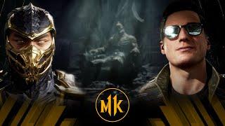 Mortal Kombat 11 - Scorpion Vs Johnny Cage (Very Hard)
