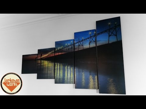 Grand Haven Lighthouse Wall Frames (demo)