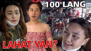 100 PESOS BUDGET CHALLENGE - Kasalan Mo Matmat   SY Talent Entertainment