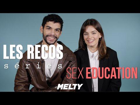 Xxx Mp4 Sex Education Emma Mackey Et Sami Outalbali Donnent Leurs Séries Préférées RECOS 3gp Sex
