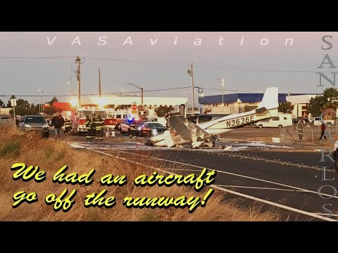 [REAL ATC] Cirrus SR-22T overruns the runway on takeoff