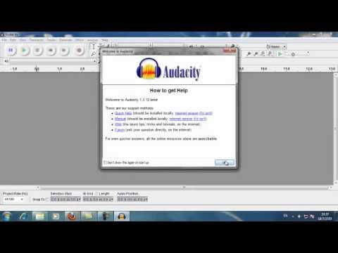 Audacity - Karaoke (Minus One)