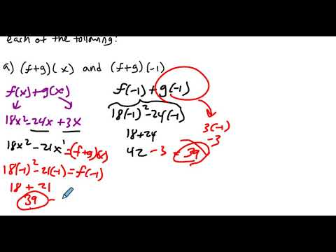 4 3 Example 4 Adding and Subtracting Functions