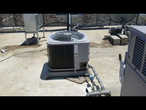 Refrigerant leak and massive airflow problems.