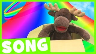 I Can See a Rainbow | Simple Color Song for Kids