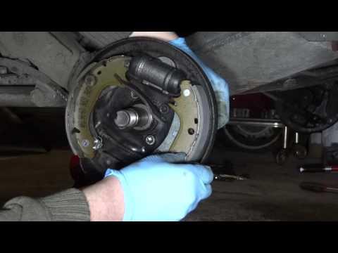 Citroen Saxo rear brakes