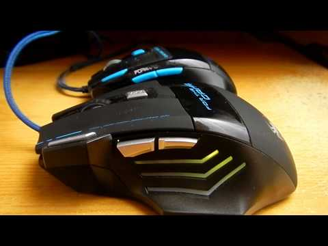 Gaming mouse review Zelotes T80 7200 DPI cheap