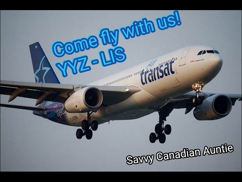 Vacation Time! Join us on our flight from YYZ (Toronto) to LIS (Lisbon).  Final destination ALGARVE!
