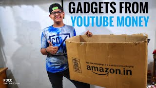 GADGETS FROM YOUTUBE MONEY 😍||GADGETS REVIEW||CREATOR YOGESH