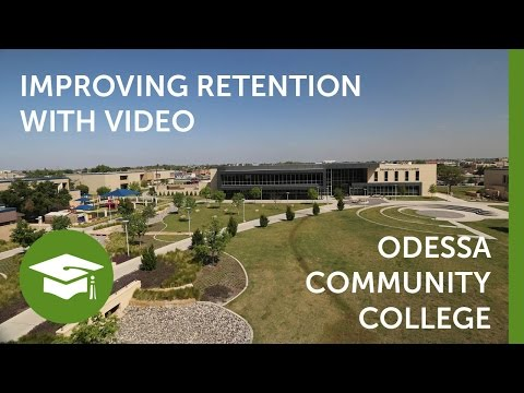 Use Video to Improve Student Retention - TechSmith Relay and Odessa Community College