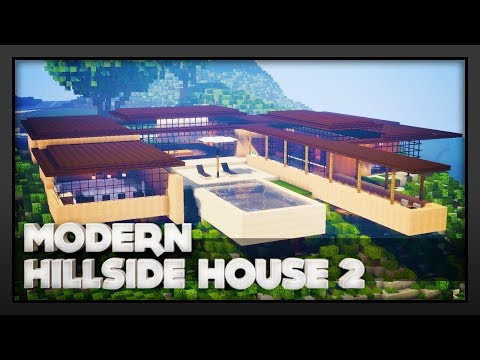 Minecraft - Modern Hillside House 2
