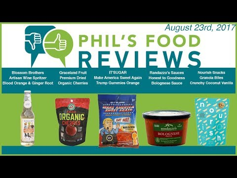 Phil's Food Reviews August 23rd, 2017