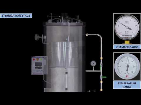 Vertical Cylindrical Type Autoclave 2