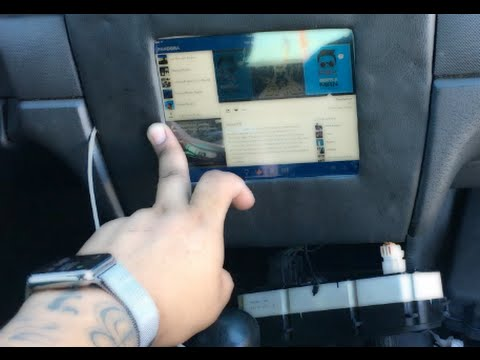 how to put in install mount iPad in a my car truck cheep and easy