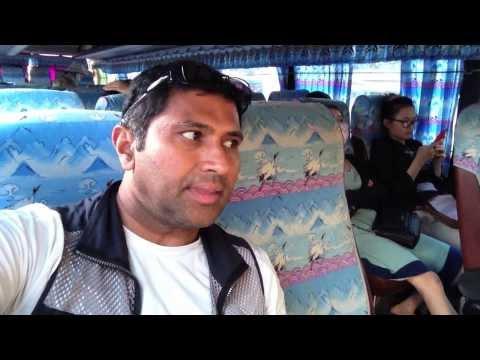 Vietnam by bus to Ha Long Bay
