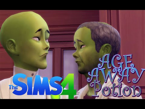 The Sims 4 Get to Work Highlights    Science Career Potions   Age Away Potion  