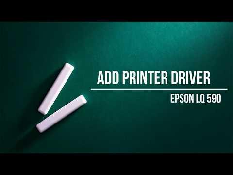 Add Printer Driver to Win Server