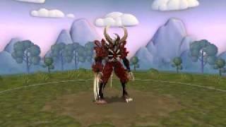 My Spore Creation : Devil 3