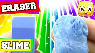 How To Make Eraser Slime Diy Without Cornstarch Liquid Starch Borax O