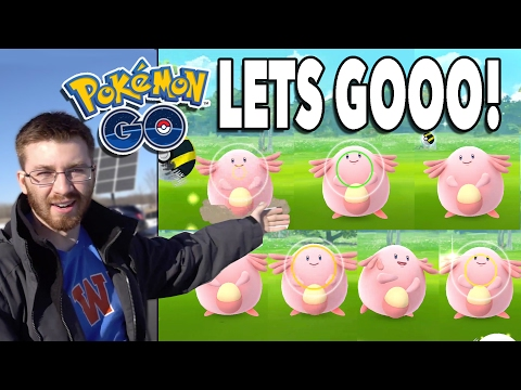 CATCHING 7 CHANSEY IN 2 HOURS! Pokemon GO Generation 2 Prep Near Completion!