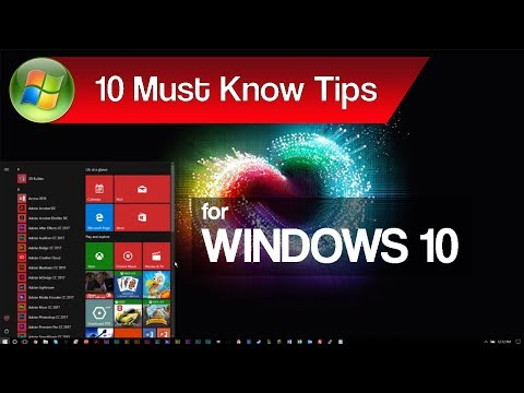 Windows 10 Hidden Secrets | 10 Things You Didn't Know About Windows 10 (Timestamps Included)