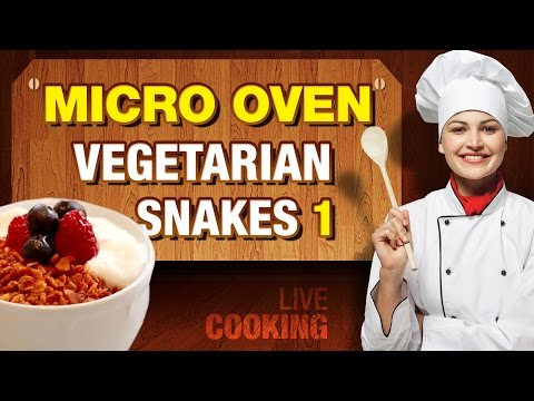 How to Make a Snakes & Starters | Microwave Convection Oven Recipes
