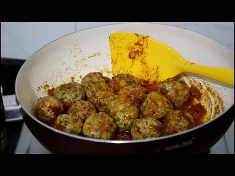 Chicken Onion Ball Recipe | Easy To Make Recipe By Desi Zaiqa in Hindi