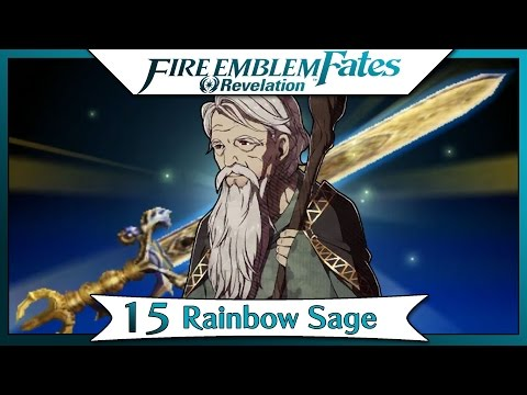 Fire Emblem Fates Revelation - Part 11 | Chapter 15 - Rainbow Sage! [English Gameplay Walkthrough]