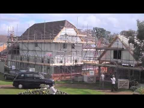 Potton Wickhambrook Self Build Timber Frame House Time Lapse