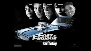 A Fast & Furious Birthday