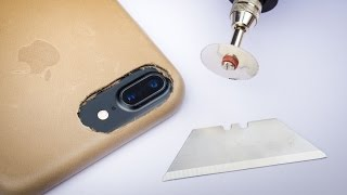 DIY Apple Leather Case for iPhone 7 - Convert your old iPhone 6 Apple Leather Case!