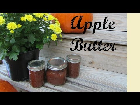 Crockpot Apple Butter + Canning   EASY!