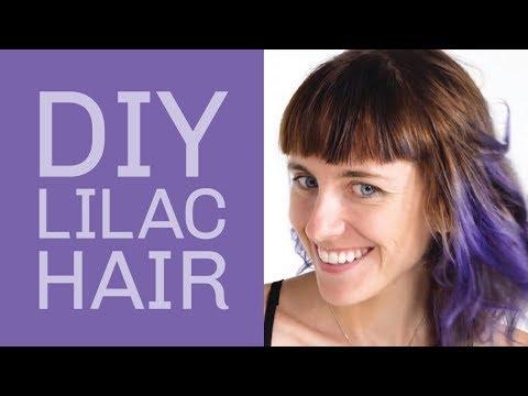 DIY Lilac Hair Tutorial